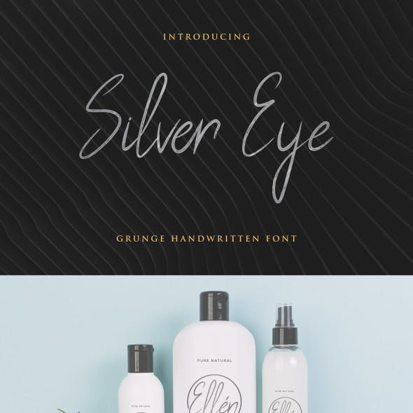 Silver Eye Font