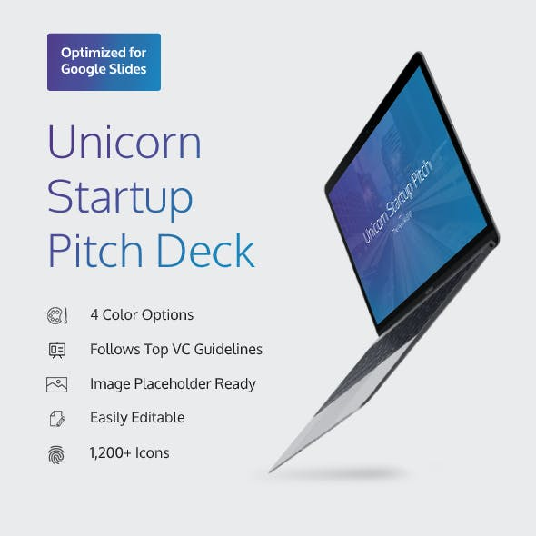 Unicorn Startup Pitch Deck (GSLIDES)