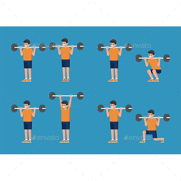 Weight Training Poses