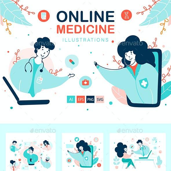 Virtual Doctor - Medical Illustrations