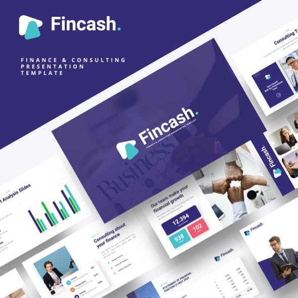 FINCASH - Finance & Consulting Keynote Template