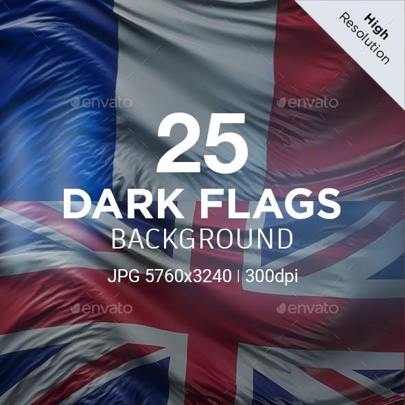 Dark Flags - 25 Countries