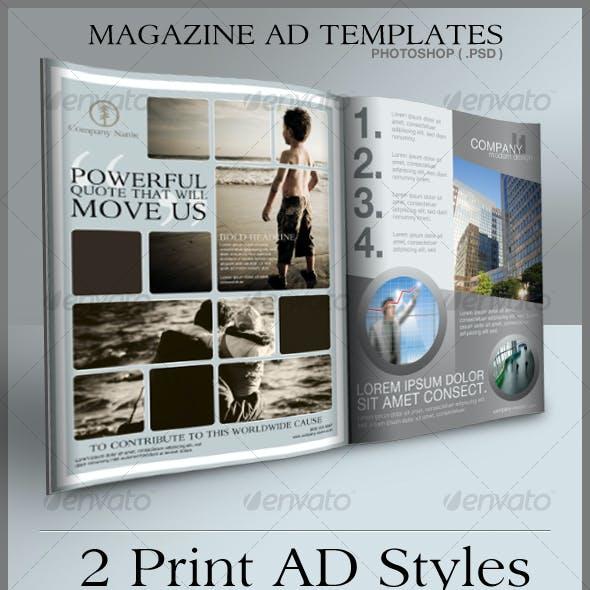 Print Ad Templates
