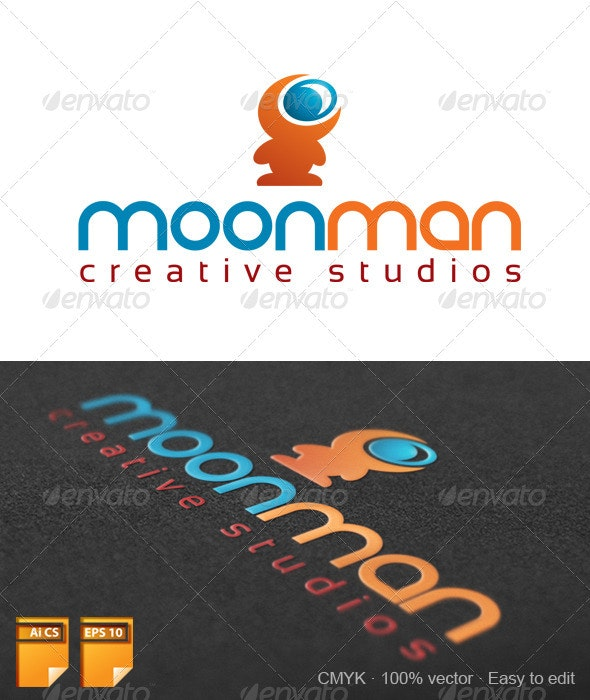 Moonman Logo - Humans Logo Templates
