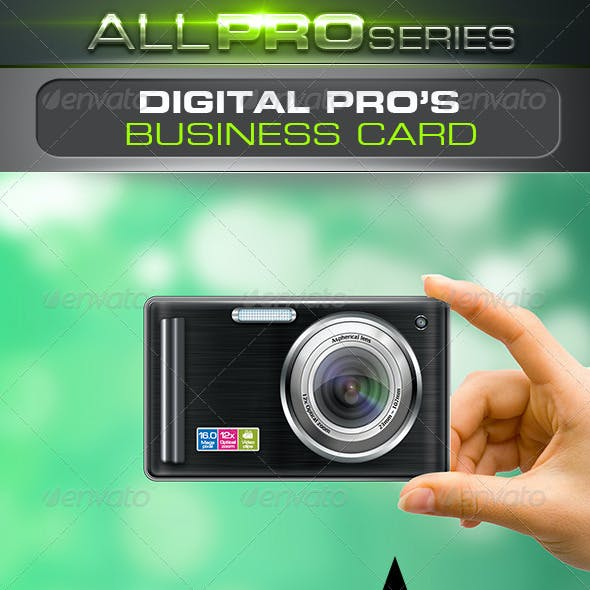 Digital Pro Business Card