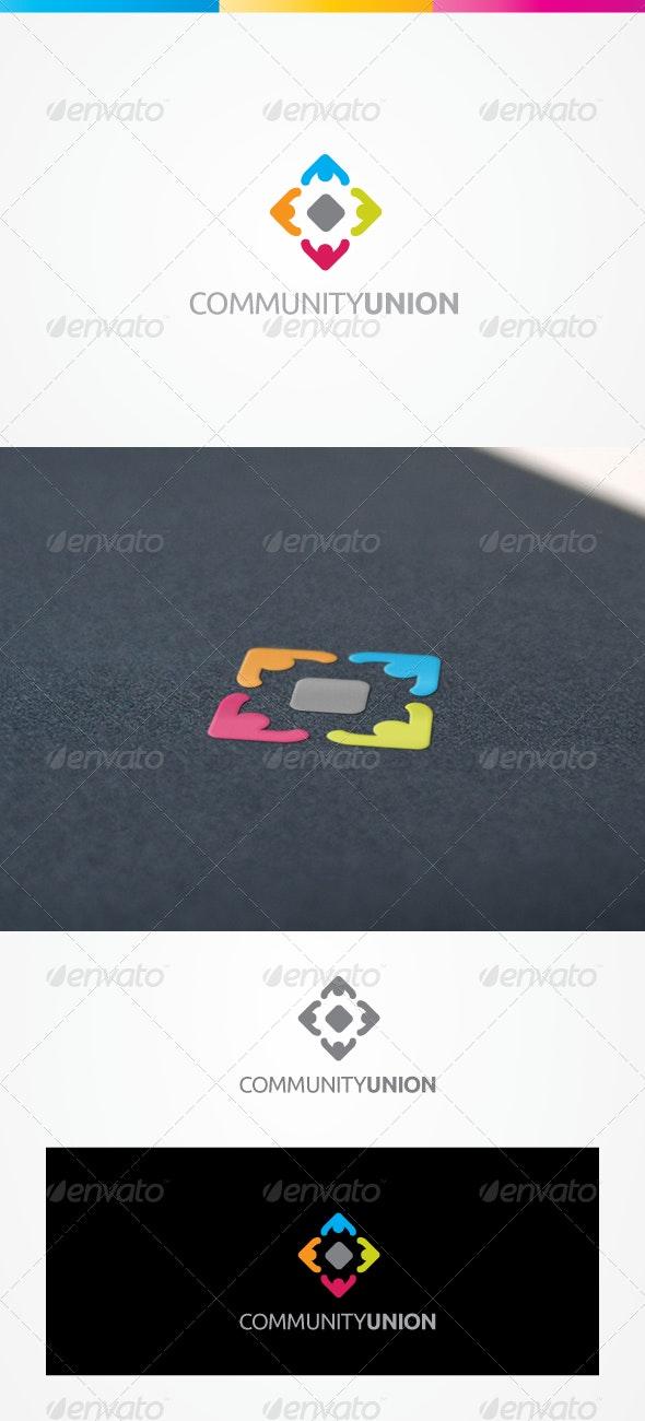 Community - Humans Logo Templates