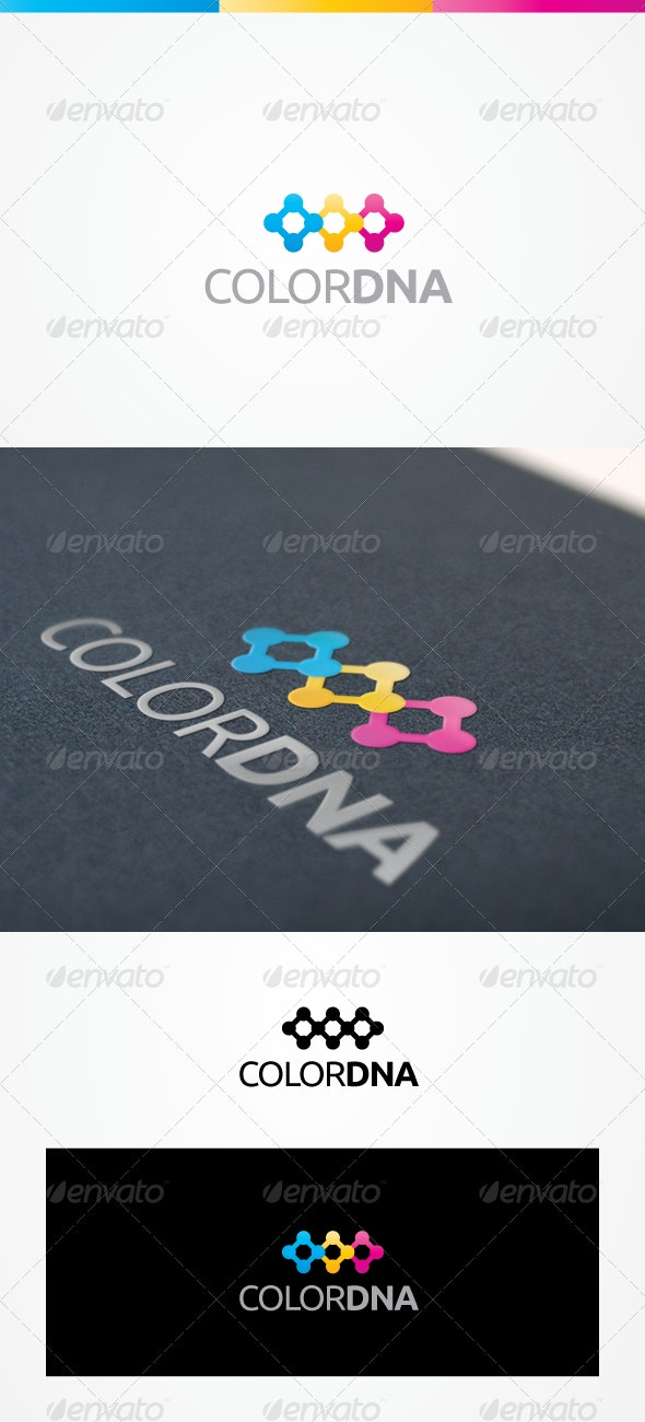 ColorDNA - Abstract Logo Templates