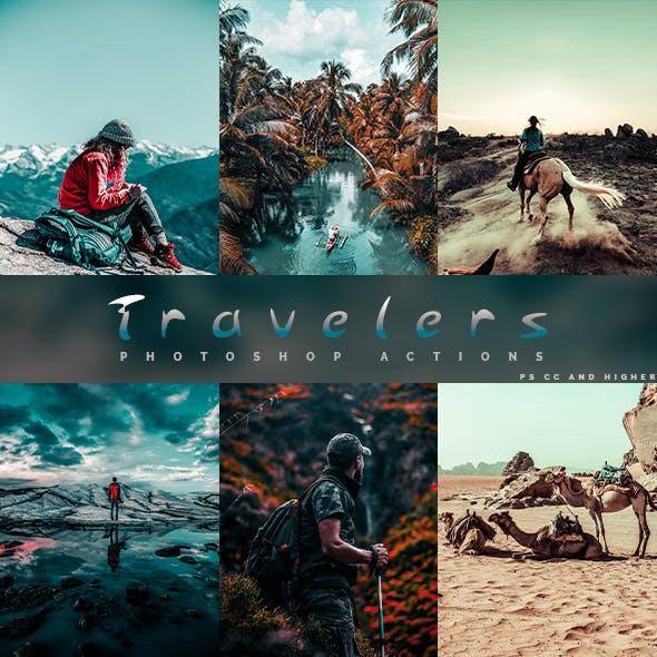 Travelers - Photoshop Actions