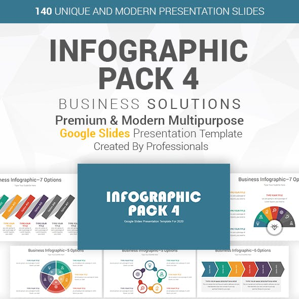 Infographic Pack-4 Google Slides Presentation Template