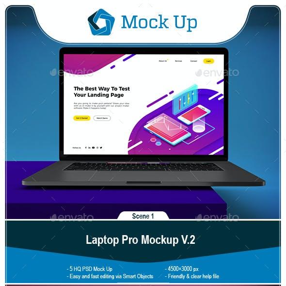 Laptop Pro Mockup V.2