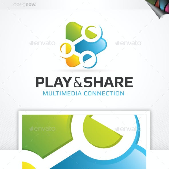 Share And Play Logo