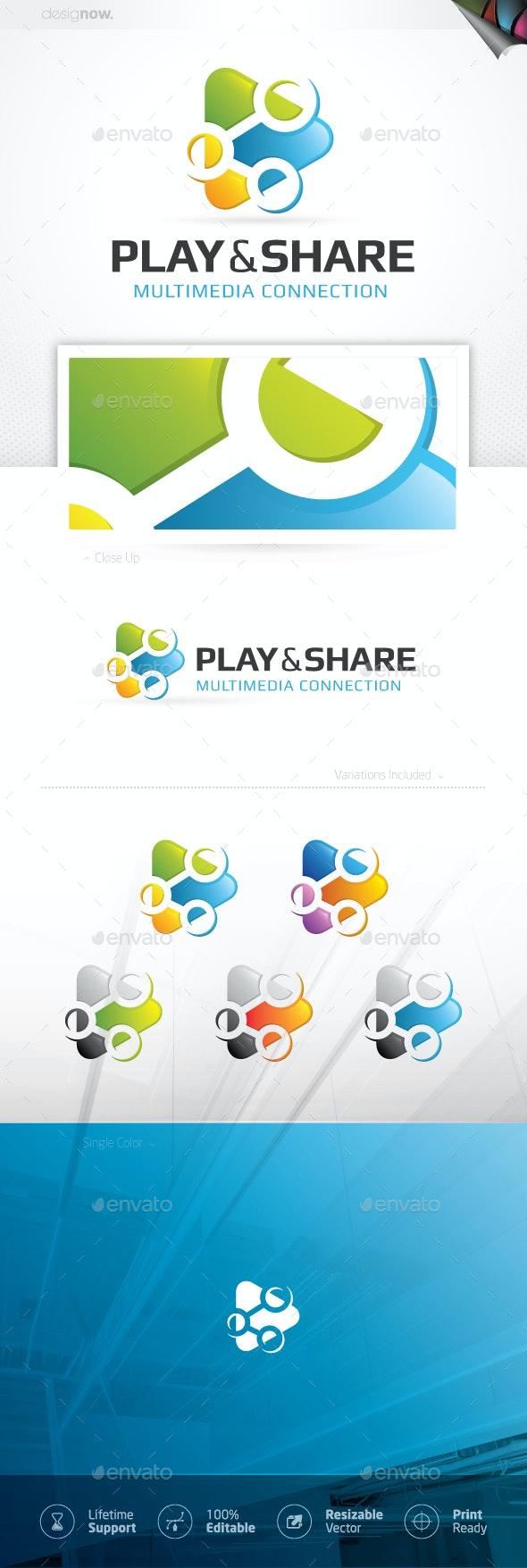 Share And Play Logo - Company Logo Templates