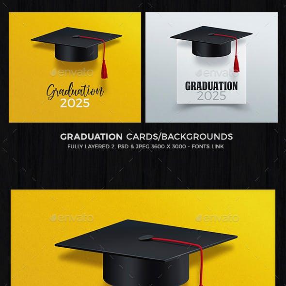 Graduation Card / Background