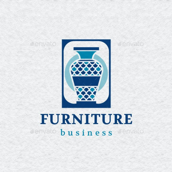 Vase Furniture Logo