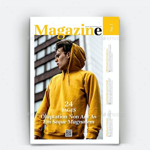 The Magazine Template