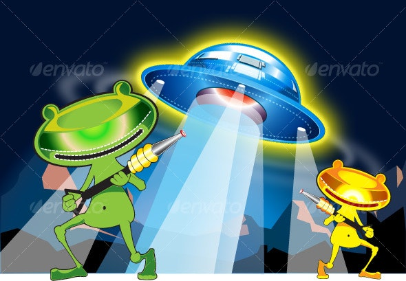 Ufo and Aliens - Miscellaneous Characters