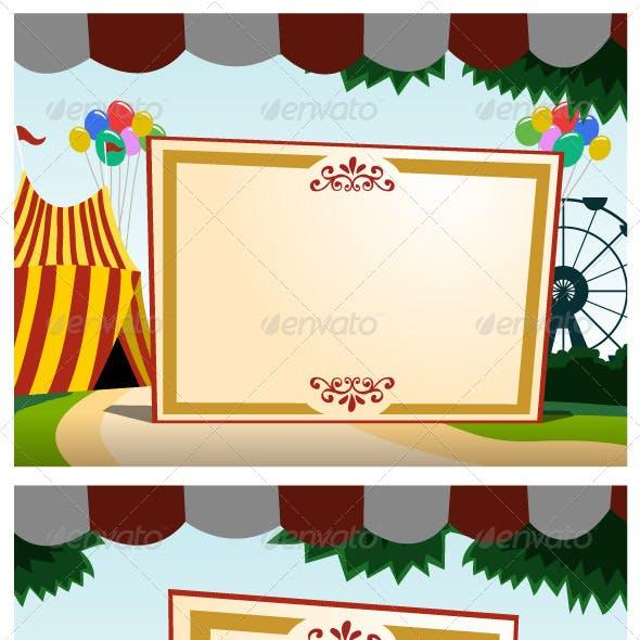 Carnival Blank Board