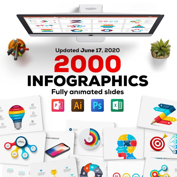 Multipurpose Infographics PowerPoint Templates v.4.5
