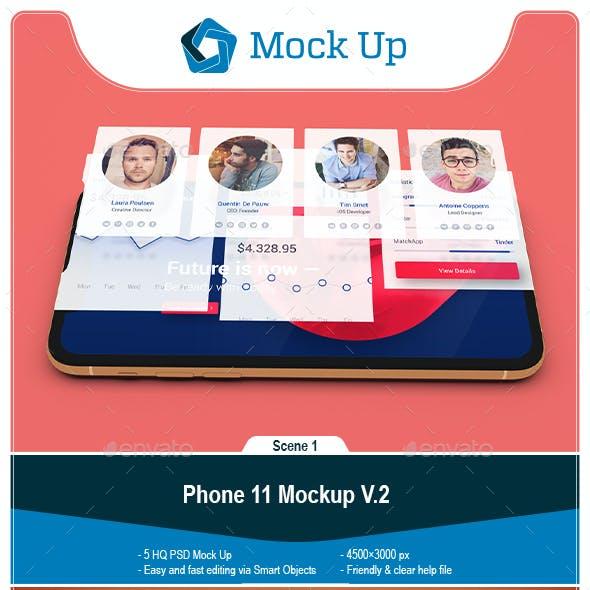 Phone 11 Mockup V.2
