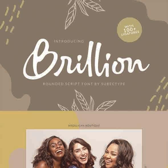 Brillion - Script Font
