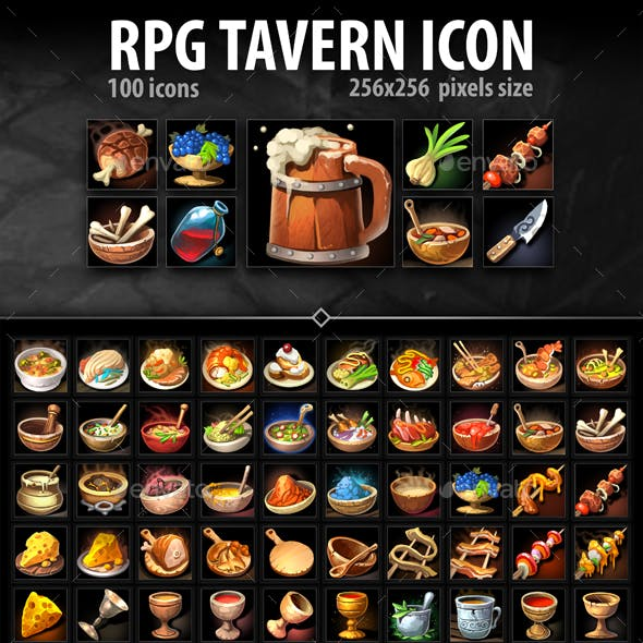 RPG Tavern Icons