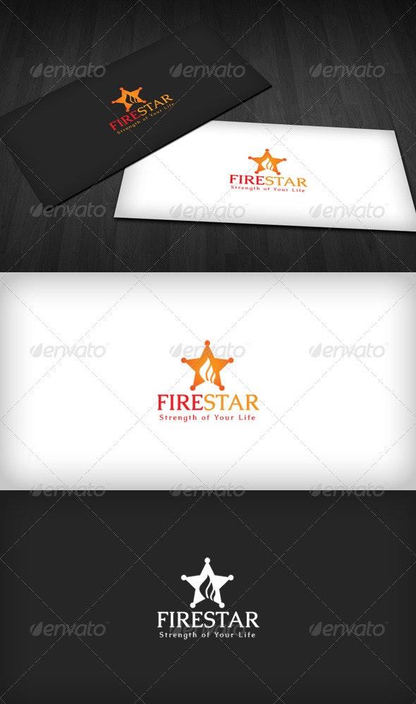 Fire Star Logo - Symbols Logo Templates
