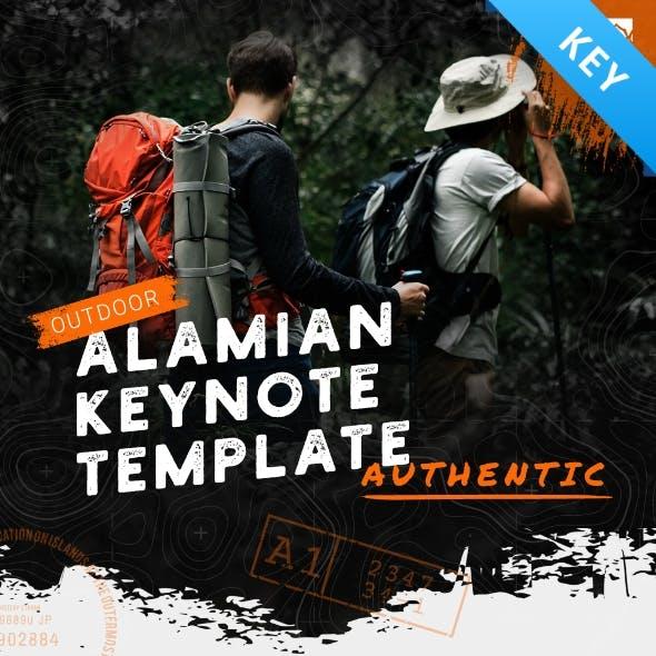 Alamian Outdoor Keynote Presentation Template