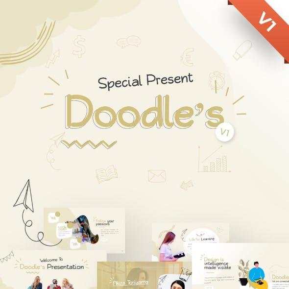 Doodle's Creative Multipurpose PowerPoint Template