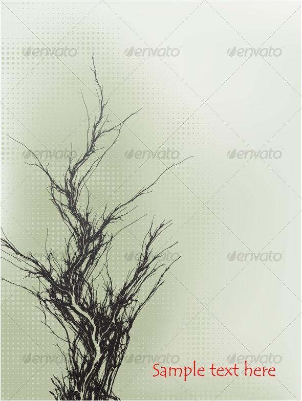 Vector abstract grunge banner - Abstract Conceptual