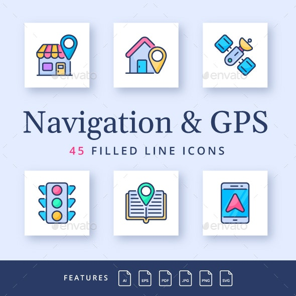 Navigation and GPS - Miscellaneous Characters