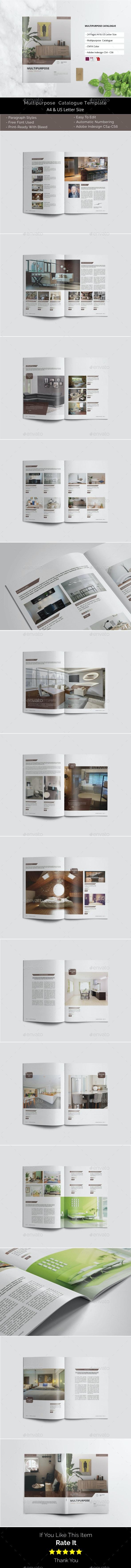 Multipurpose Catalogue / Brochure - Catalogs Brochures