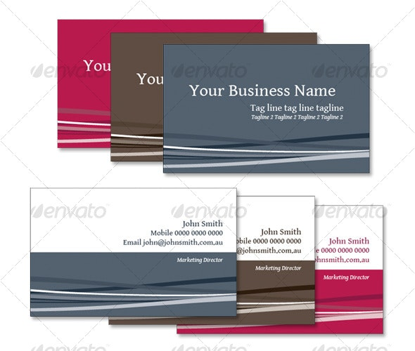 Business Card 01 - Corporate Business Cards