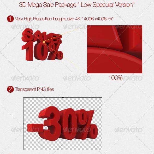 3D Mega Sale Package