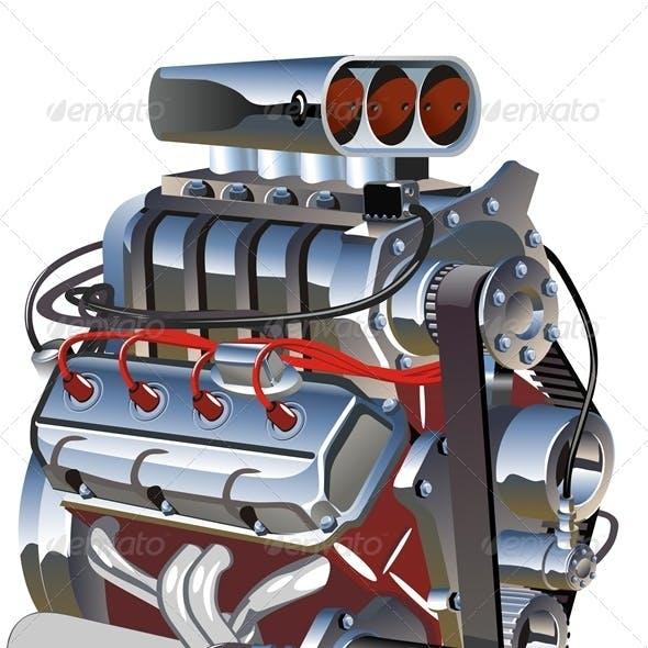 Vector Cartoon Engine