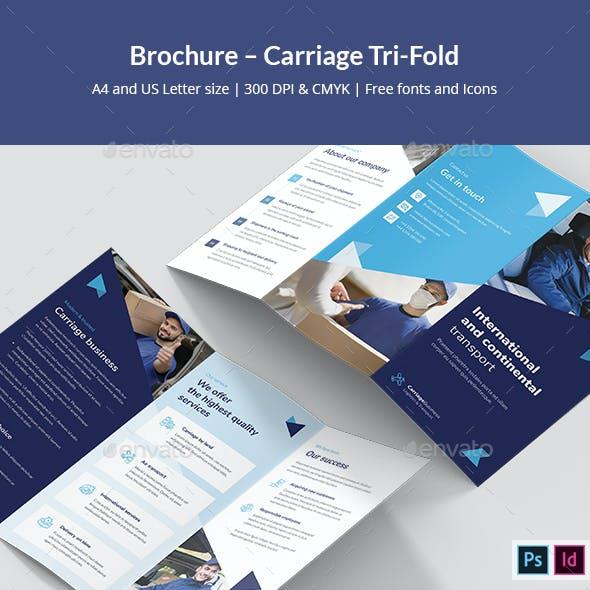 Brochure – Carriage Tri-Fold