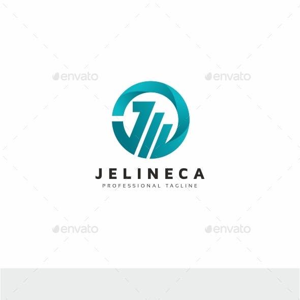Circle J Letter Logo
