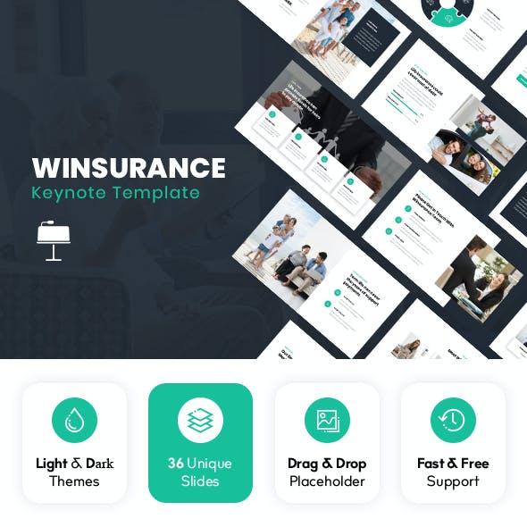 Winsurance - Insurance Keynote Template
