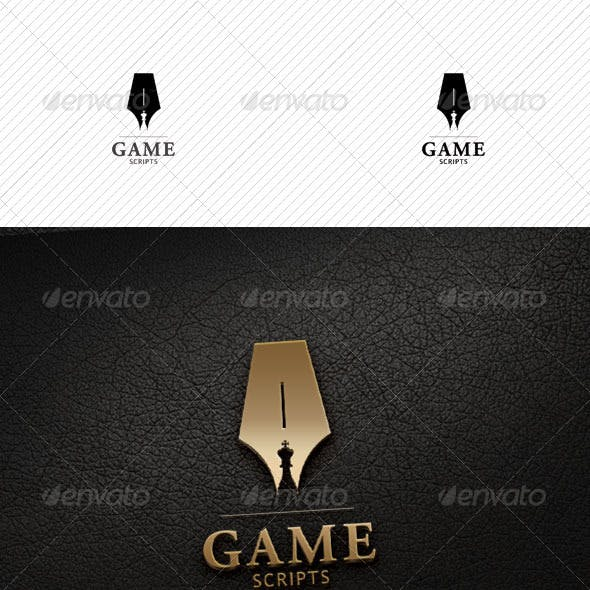 Game Scripts Logo Template
