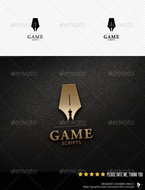 Game Scripts Logo Template - Abstract Logo Templates