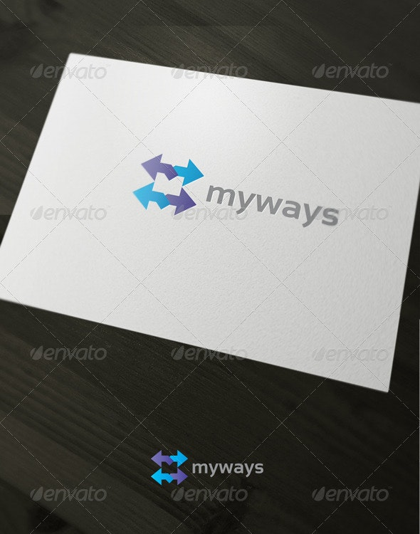 my ways - Letters Logo Templates