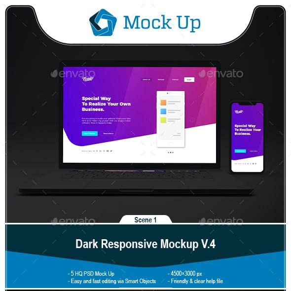 Dark Responsive Mockup V.4