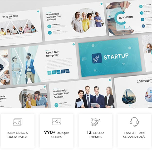 Simple & Modern Business Powerpoint Template