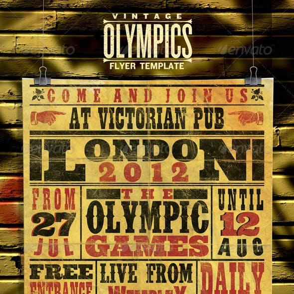 Vintage Sports Poster/Flyer