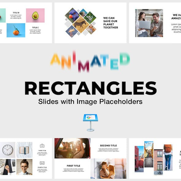 Rectangles - Animated Slides for Keynote