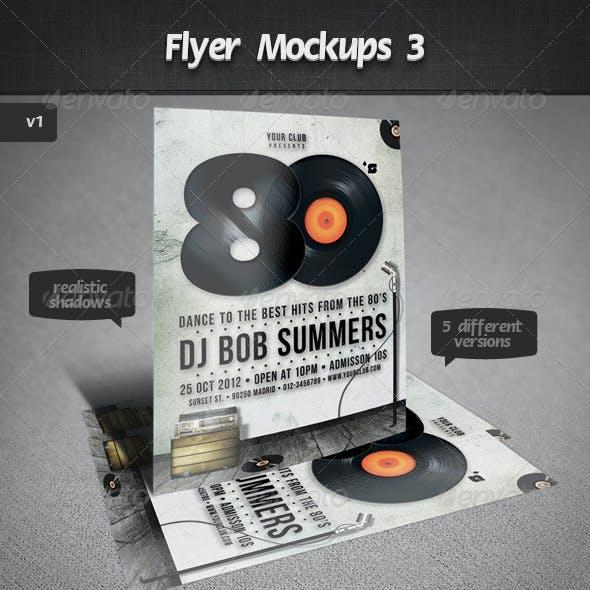 Flyer Mockups 3