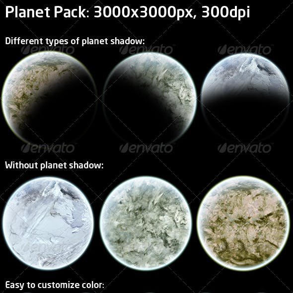 Highres Planet Pack