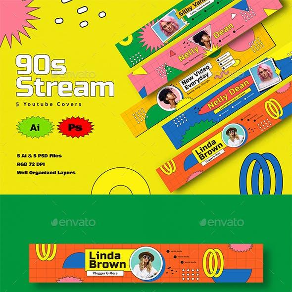 90s Stream Youtube Cover