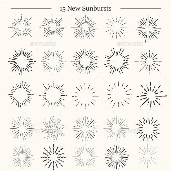Sunbursts Retro Collection
