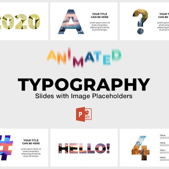 Typography - Animated Slides for PowerPoint Presentation