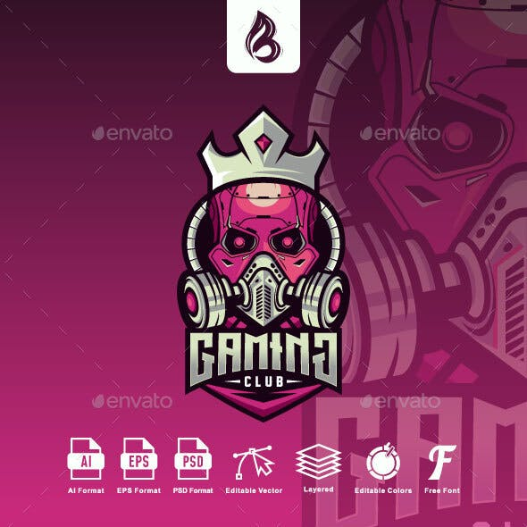 Gaming Logo - Skull Esport Logo